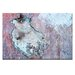 Artist Lane 'Dry Dock Abstract 03' by Bente Andermahr Graphic Art on Wrapped Canvas