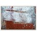 Artist Lane 'Dry Dock Abstract 05' by Bente Andermahr Art Print Wrapped on Canvas