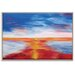 Artist Lane 'New Horizon' by Josie Nobile Framed Art Print on Wrapped Canvas