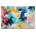 Artist Lane 'House Picket Fence' by Amira Rahim Art Print on Wrapped Canvas