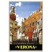 Artist Lane 'Verona' Framed Graphic Art on Wrapped Canvas