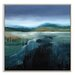 Artist Lane 'First Frost' by Lydia Ben-Natan Framed Art Print on Wrapped Canvas