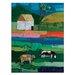 Artist Lane 'Flinders' by Anna Blatman Art Print on Wrapped Canvas
