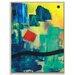Artist Lane 'Meridian ' by Mario Burgoa Framed Art Print on Wrapped Canvas