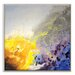 Artist Lane 'Spring Rain II' by Jennifer Webb Art Print Wrapped on Canvas