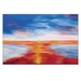 Artist Lane 'New Horizon' by Josie Nobile Art Print Wrapped on Canvas