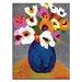 Artist Lane 'Jan-Maree' by Anna Blatman Art Print Wrapped on Canvas