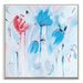 Artist Lane 'Blue Heaven' by Brenda Meynell Art Print Wrapped on Canvas