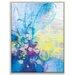 Artist Lane '50915' by Amanda Morie Art Print Wrapped on Canvas