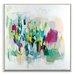 Artist Lane 'Memphis' by Amira Rahim Framed Art Print on Wrapped Canvas