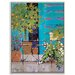 Artist Lane 'Balcony Appeal' by Catherine Fitzgerald Framed Art Print on Wrapped Canvas