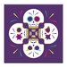 Artist Lane 'Skull-Pattern' by Ayarti Graphic Art on Wrapped Canvas
