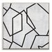 Artist Lane 'Geometric 5' by Chalie MacRae Graphic Art Wrapped on Canvas