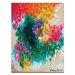 Artist Lane 'Tangerine Sky' by Amira Rahim Art Print Wrapped on Canvas