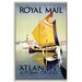 Artist Lane 'Royal Mail' Framed Graphic Art on Wrapped Canvas