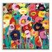 Artist Lane 'Joletta' by Anna Blatman Art Print Wrapped on Canvas