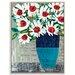 Artist Lane 'Kerrie Pot' by Anna Blatman Framed Art Print on Wrapped Canvas