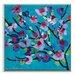 Artist Lane 'Maggie Blue' by Anna Blatman Framed Art Print on Wrapped Canvas