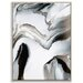 Artist Lane 'Flow 14' by Chalie MacRae Framed Art Print on Wrapped Canvas