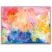Artist Lane 'My Particular Infinite' by Amira Rahim Framed Art Print on Wrapped Canvas