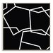Artist Lane 'Geometric 2' by Chalie MacRae Framed Art Print on Wrapped Canvas
