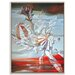 Artist Lane 'Waratah's Dreams' by Olena Kosenko Framed Graphic Art Wrapped on Canvas