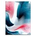 Artist Lane 'Flow 45' by Chalie MacRae Art Print Wrapped on Canvas
