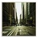 Artist Lane 'Gelati Rush' by Andrew Paranavitana Framed Photographic Print on Wrapped Canvas