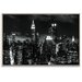 Artist Lane 'Monochrome City' by Andrew Paranavitana Photographic Print on Wrapped Canvas