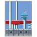 Artist Lane 'Pier 35' by Alan Annells Graphic Art Wrapped on Canvas