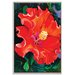 Artist Lane 'Hibiscus' by Shani Alexander Art Print Wrapped on Canvas
