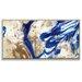 Artist Lane 'I Did Go Indigo' by Olivia Collins Framed Art Print on Wrapped Canvas