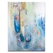 Artist Lane 'Out of the Blue' by Julia Ahmad Art Print on Wrapped Canvas