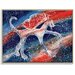Artist Lane 'Creating A New Galaxy' by Olena Kosenko Graphic Art Wrapped on Canvas