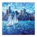 Artist Lane 'Sailing I' by Jennifer Webb Art Print on Wrapped Canvas