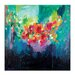 Artist Lane 'Bora Bora' by Amira Rahim Art Print Wrapped on Canvas