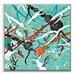 Artist Lane 'No es correr, es flotar' by Lia Porto Framed Art Print on Wrapped Canvas