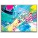 Artist Lane 'Springlayers 3' by Sabina Klein Framed Art Print on Wrapped Canvas