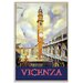 Artist Lane 'Vicenza' Framed Graphic Art on Wrapped Canvas