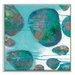 Artist Lane 'Back Beach 1' by Sherren Comensoli Framed Art Print on Wrapped Canvas