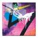 Artist Lane 'Lasers' by Mario Burgoa Art Print on Wrapped Canvas