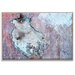 Artist Lane 'Dry Dock Abstract 03' by Bente Andermahr Framed Graphic Art on Wrapped Canvas