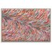 Artist Lane 'Rio Feather' by Josie Nobile Framed Art Print on Wrapped Canvas