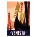 Artist Lane 'Venezia' Graphic Art on Wrapped Canvas