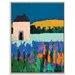 Artist Lane 'Daylesford' by Anna Blatman Framed Art Print on Wrapped Canvas