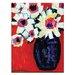 Artist Lane 'Debra' by Anna Blatman Art Print Wrapped on Canvas