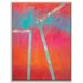 Artist Lane 'Heliopause' by Mario Burgoa Framed Art Print on Wrapped Canvas