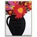 Artist Lane 'Floral Pot for Karen' by Anna Blatman Art Print on Wrapped Canvas