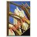 Artist Lane Visit Prague' Vintage Advertisement Unwrapped on Canvas