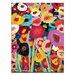 Artist Lane 'Simi Flowers' by Anna Blatman Art Print on Wrapped Canvas